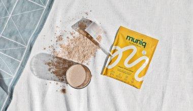 Muniq with powder